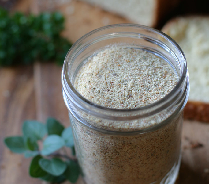 Homemade italian seasoned bread crumbs are so easy to make. I love using homemade bread made from ancient einkorn flour to kick up the healthy factor.