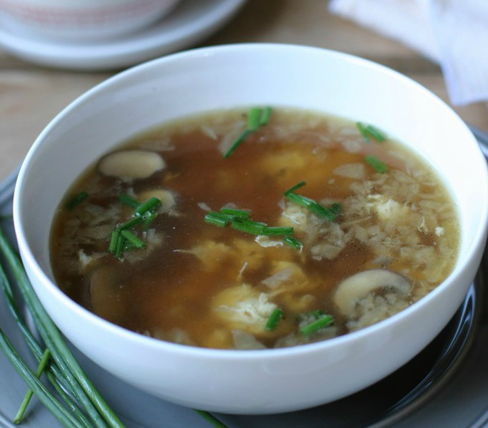 The best recipe for someone who is sick is a comforting and perfected egg drop soup. Packed with nourishing eggs and bone broth, it'll warm any sick soul!