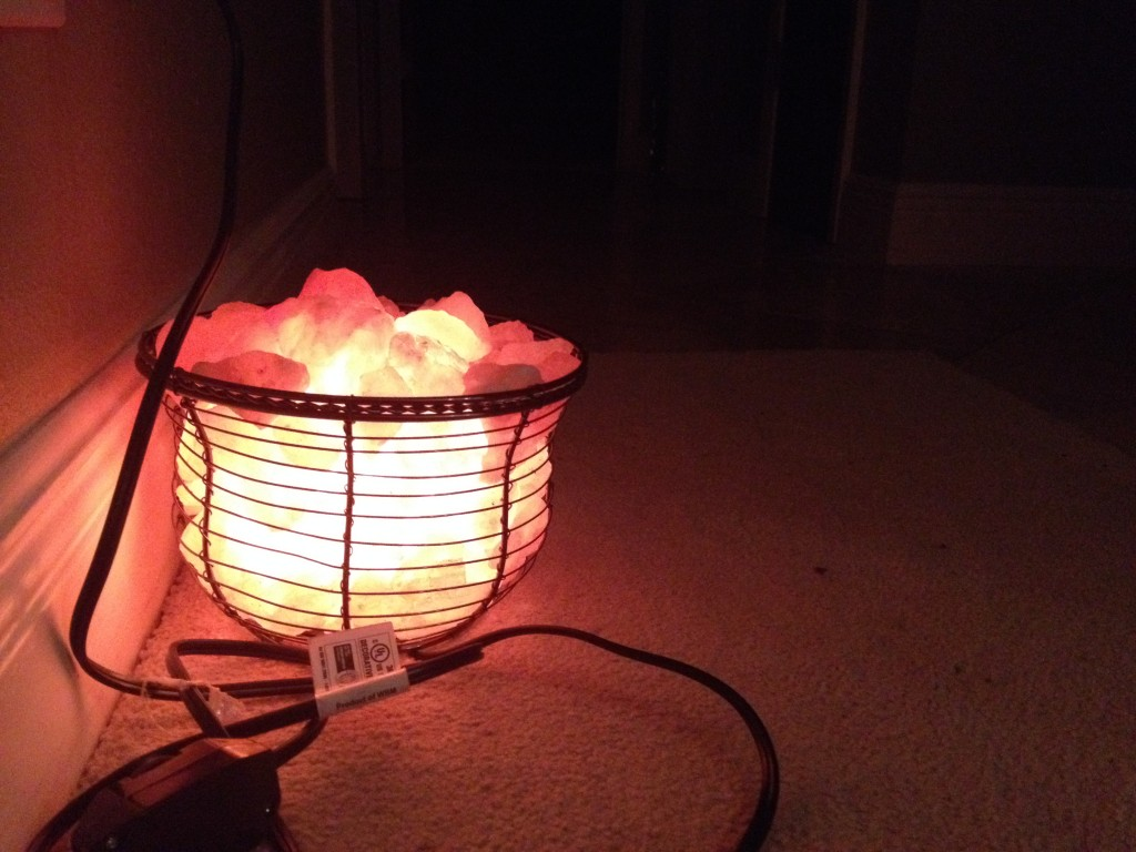 """Night lights fall into the category of """"blue light"""" which affects your body to naturally slow down at night. This is one of the reasons why I don't have a night light in my kid's room."""