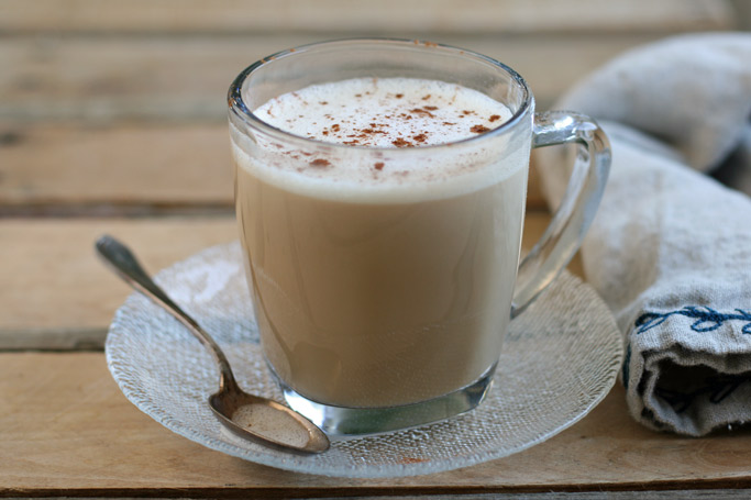 Dairy-Free Chai Tea Latte (with a superfood ingredient) + Digestion Problems